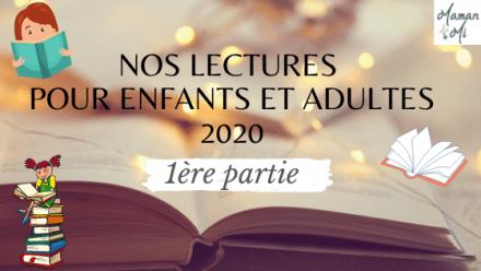 lecture enfants adultes 2020 1ere partie