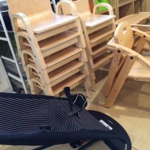 ぱんだカフェ椅子