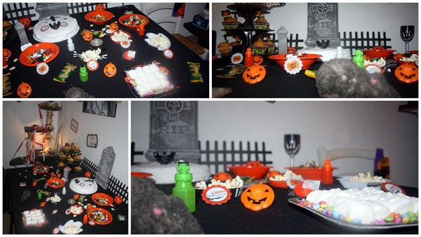 Notre décoration d'halloween