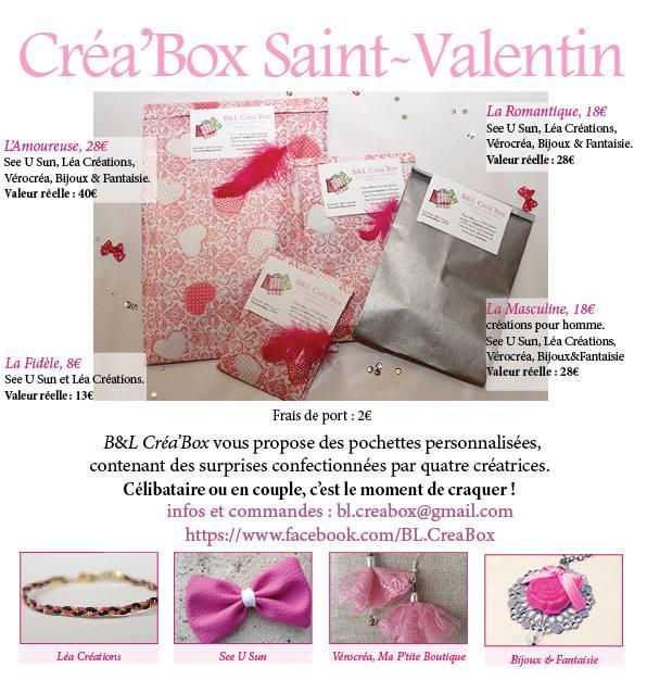 Sur la page du blog je vous ai parlé d une box pour la saint valentin pour  tout budget , une box entièrement made in France et fait main . 78cd027c22f6