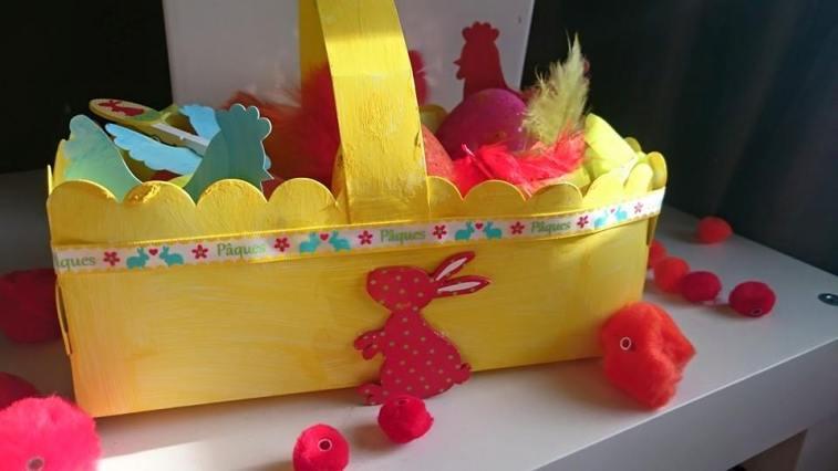 Activité créative sur le thème de Pâques