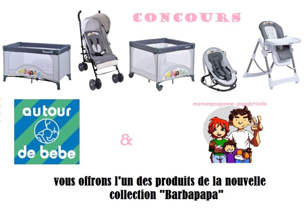 concours barbapapa