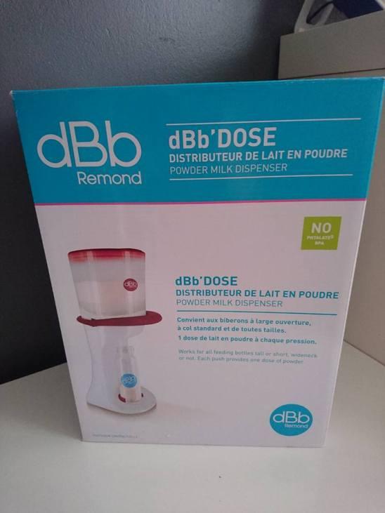 Test du Distributeur manuel de lait de dBb Remond 1