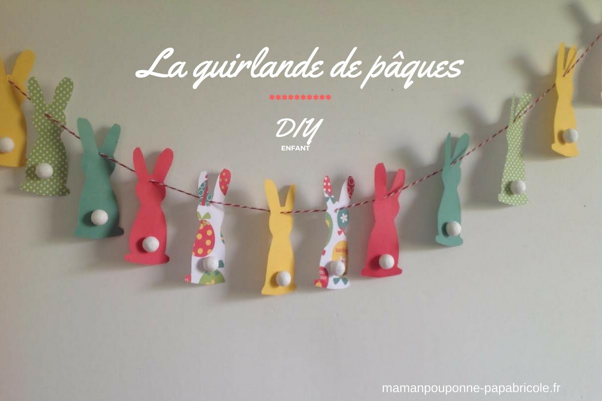 Guirlande de Pâques - D.I.Y –