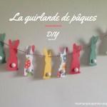 Guirlande de Pâques – D.I.Y –