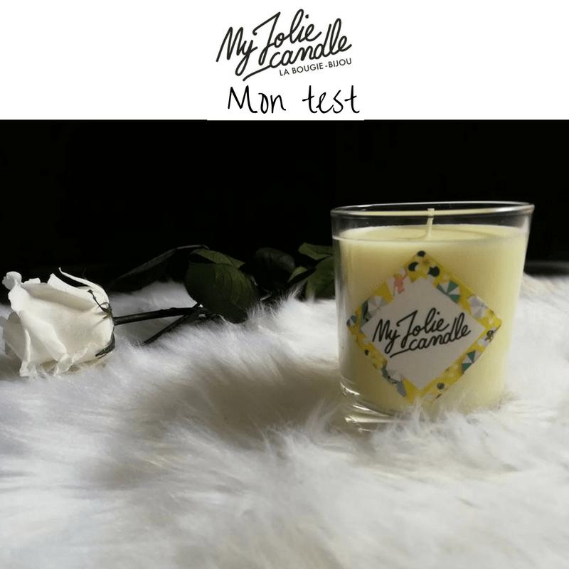 My Jolie Candle :  C'est une belle bougie et un joli bijou pour la fête des mères !