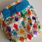 Totsbots PeeNut Te2 :   le test des couches lavables