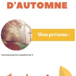 Mon cahier d'activités sur l'automne ! [IEF]
