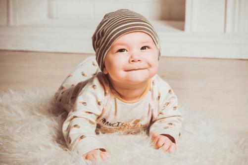poussée de croissance bébé