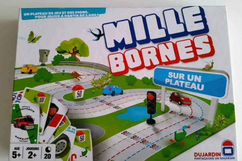 mille bornes plateau
