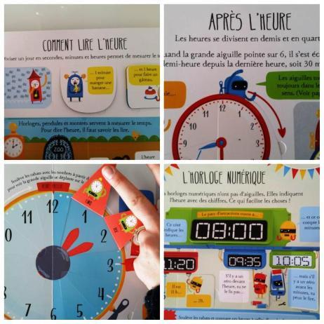 apprendre à lire l'heure