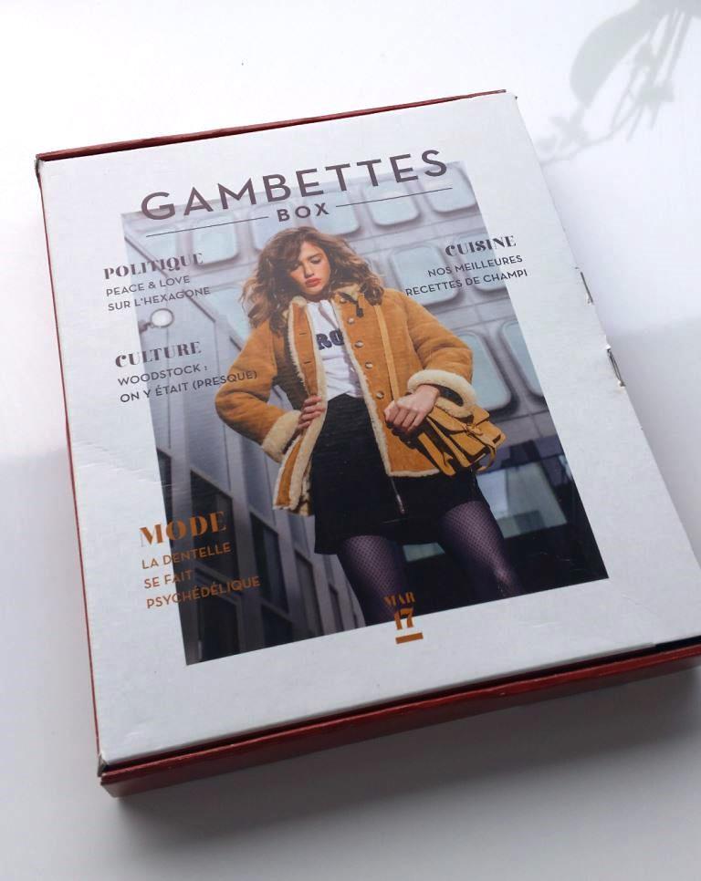 gambettes box mars 2017