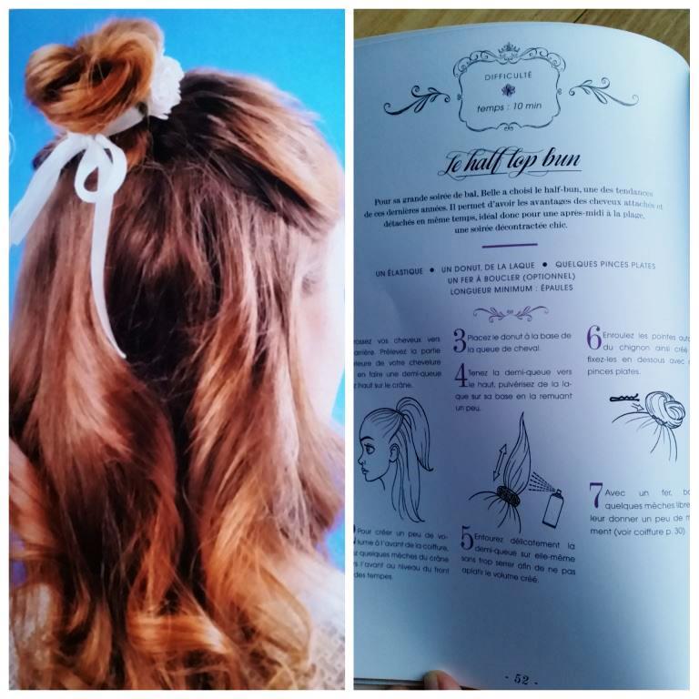 coiffures princesse belle