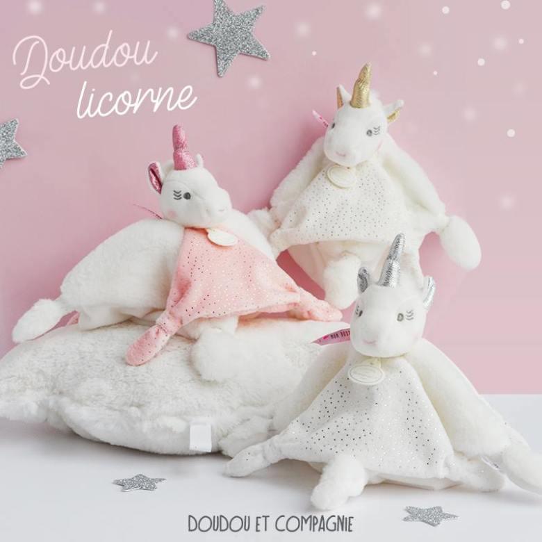 Doudou Licorne Bebe : son joli doudou licorne mamans mais pas que ~ Teatrodelosmanantiales.com Idées de Décoration
