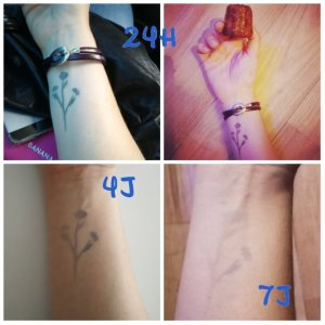 test tatouages ephemeres inka