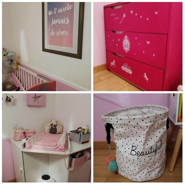 décoration chambre bebe fille