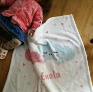 couverture bebe personnalisée