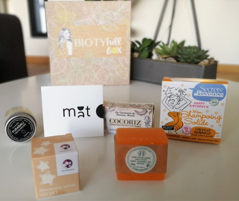 biotyfullbox octobre 2019