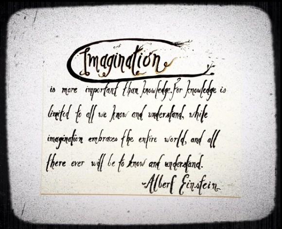 imagination maison en carton design de vie zen journey marie-eve boudreault einstein citation l imagination est plus importante que la connaissance