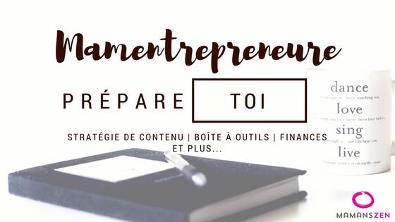 Mamentrepreneure prépare ta prochaine année