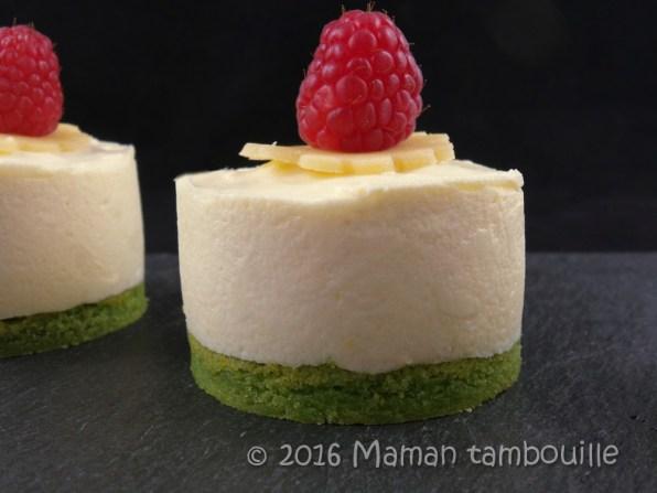 entremet pistache framboise creme amande33