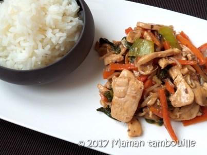 wok de poulet teriyaki18