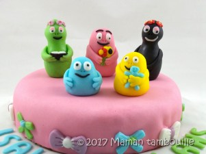 gateau barbapapa30