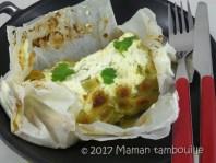 saumon aux ravioles en papilottes11