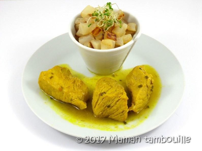 sauté de porc au curry10