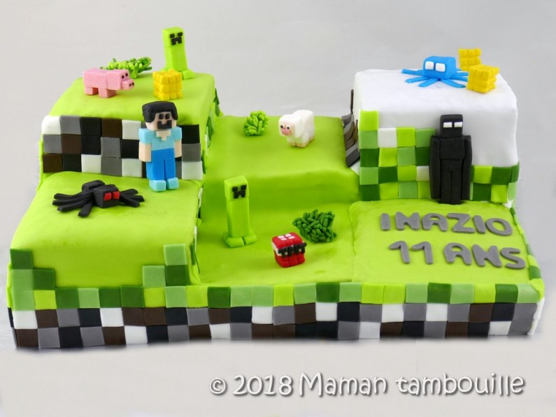 gateau minecraft30