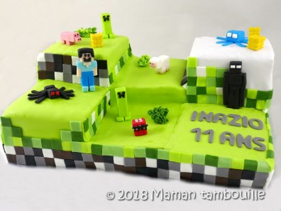 gateau minecraft36