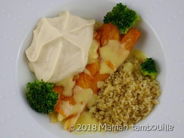 haddock sauce à l'orange emulsion de choufleur17