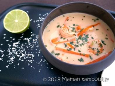 soupe thai aux crevettes16