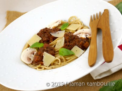 spaghetti fausse bolognaise14