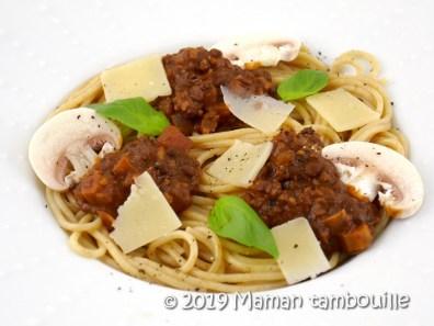 spaghetti fausse bolognaise16
