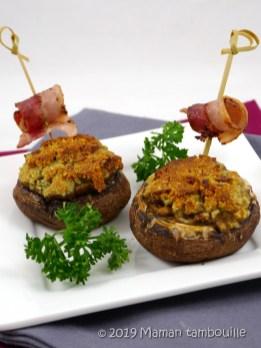 champignons au roquefort11