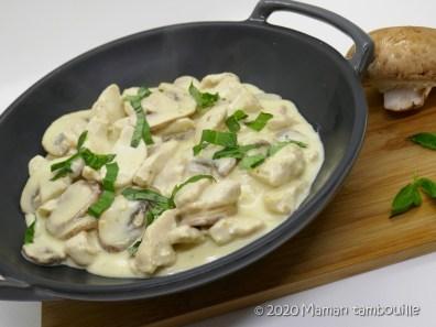 poulet creme ail et parmesan09