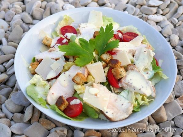 salade cesar sauce extra10