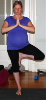 tree pose 2 prenatal yoga