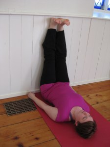 Legs Up Wall Prenatal Yoga