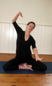swimming circles prenatal yoga