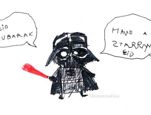Star Wars Eid | Mamanushka.com