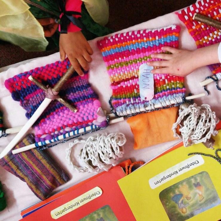 Waldorf Steiner Kindergarten Handwork || Mamanushka.com