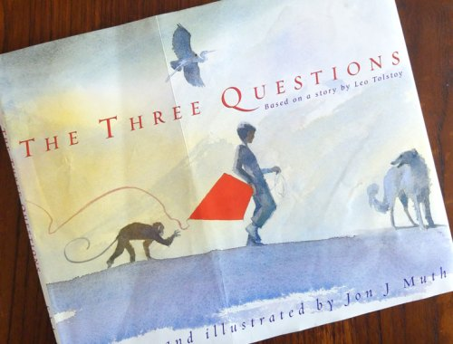 MAMANUSHKA.com    The Three Questions: A Timeless Fable On How To Be Good    Jon J. Muth    Picturebooks    Watercolor