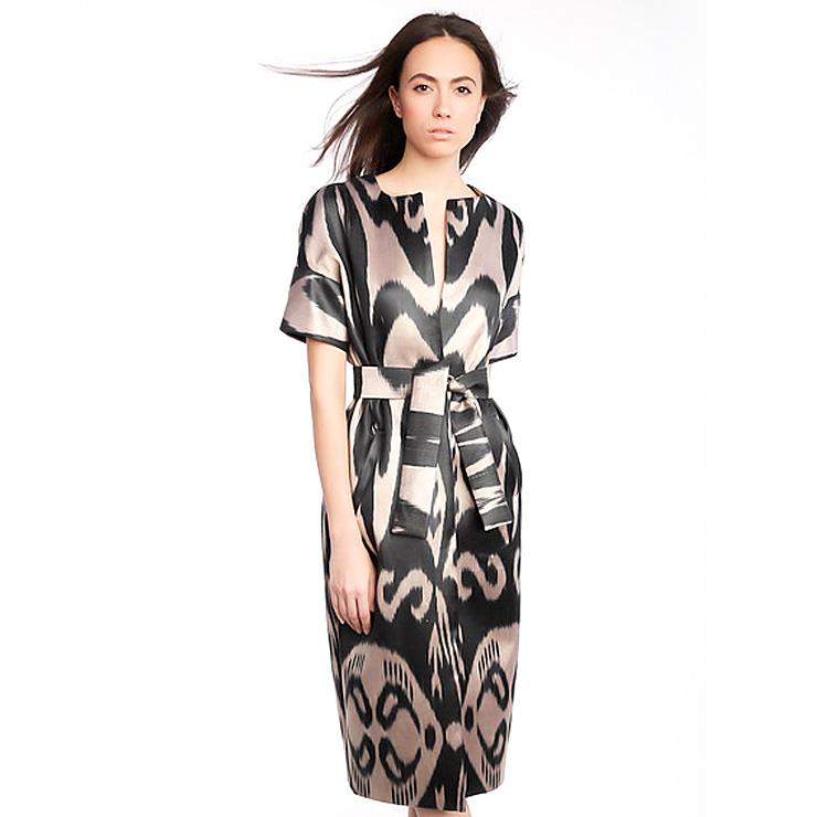 MAMANUSHKA.com || Design Inspiration || Uzbekistan || Moel Bosh || Ikat || Fashion || Modest Style