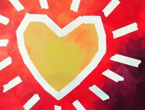 MAMANUSHKA.com    Is Your Heart Shining    Original Painting by Ausma Malik
