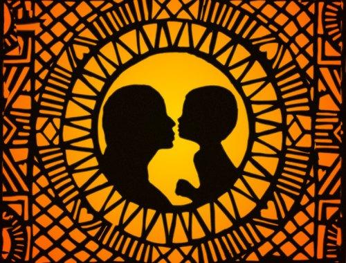 MAMANUSHKA.com || Parenting Advice Gone Awry || Mother & Child || Original Illustration by Zarina Teli || Batik Inspired