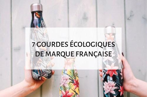gourdes ecologiques de marque française et made in france