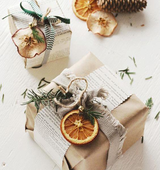 déco de Noël naturelle à faire soi-même pour des cadeaux authentiques et personnalisés