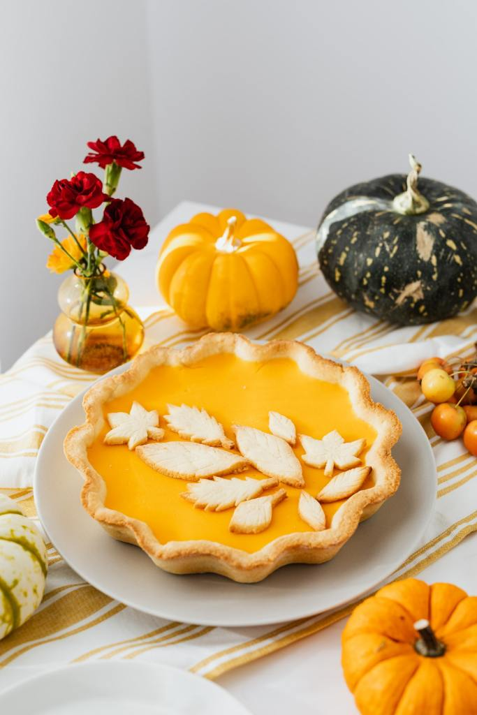 tarte à la citrouille automne